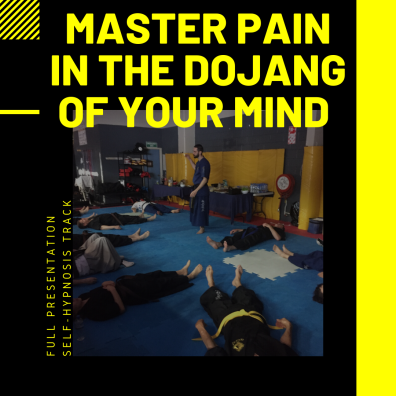 master pain in the dojang of your mind